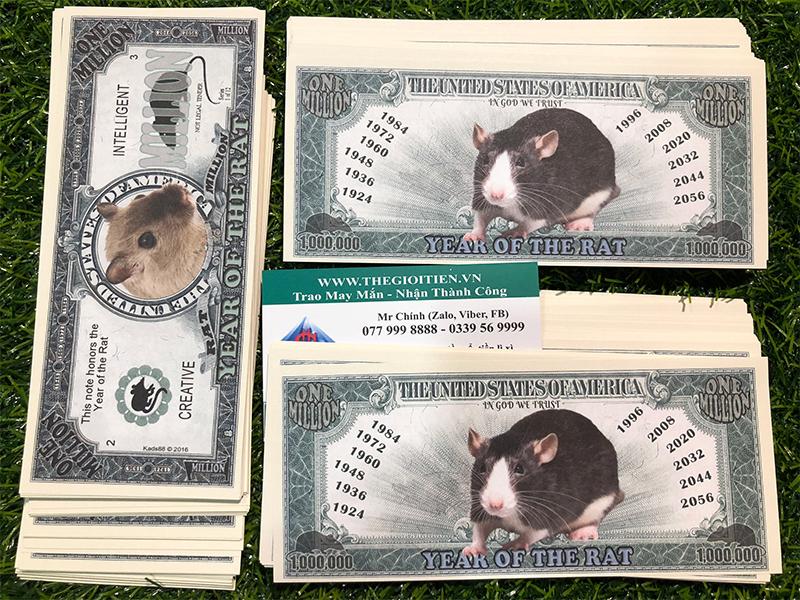 1 triệu đô chuột
