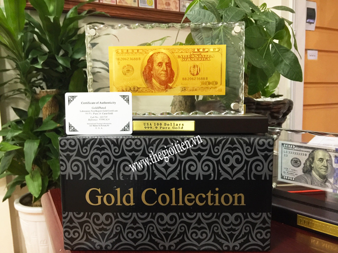 100 usd bằng vàng