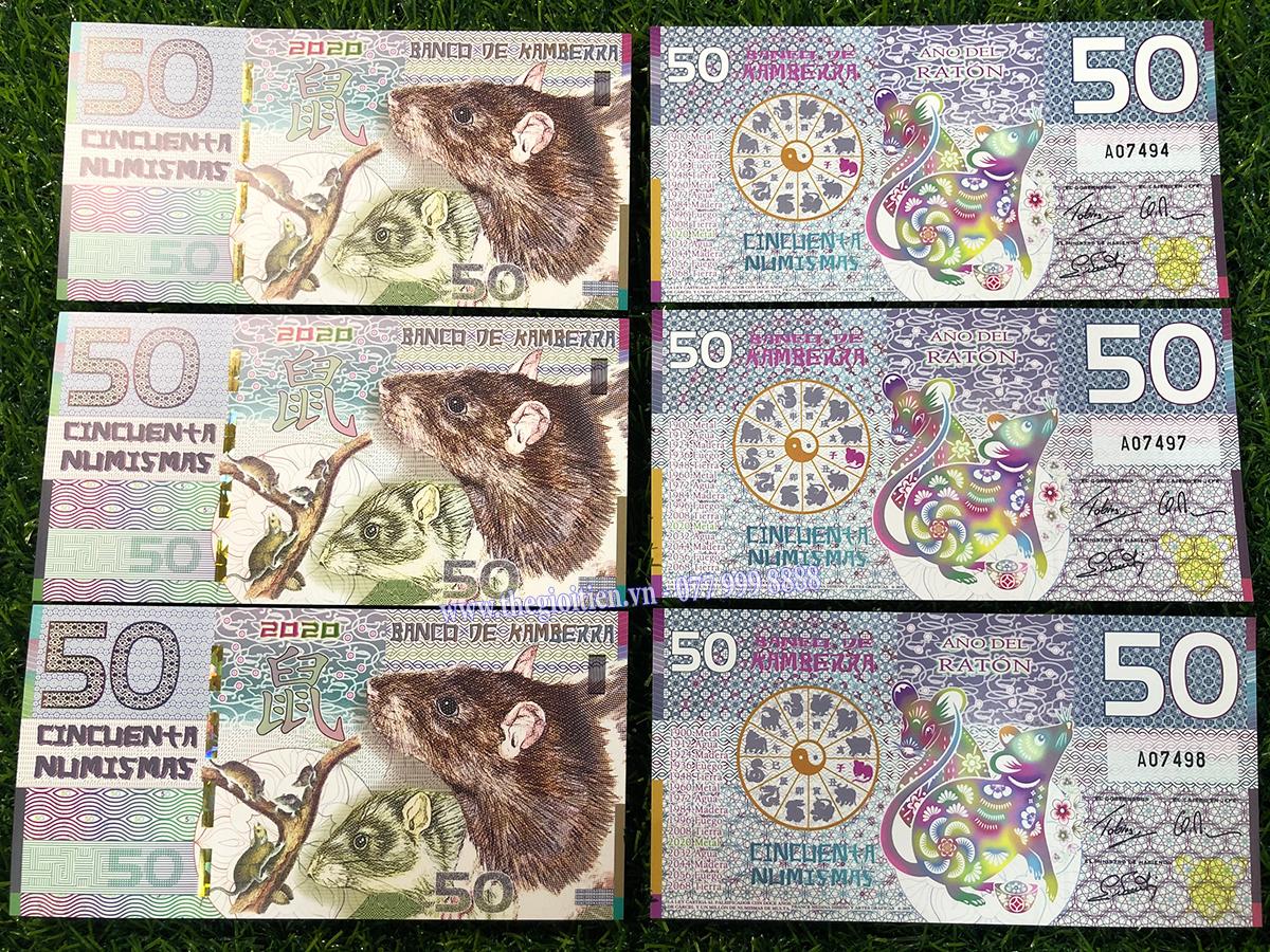 tiền con chuột úc giấy
