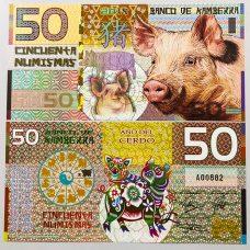 tiền lợn úc giấy