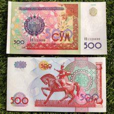 Tiền Con Ngựa Mã Đáo Thành Công Uzbekistan