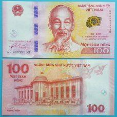 tiền 100đ lưu niệm
